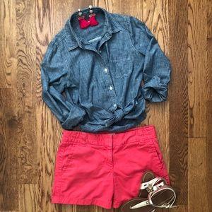 JCrew Favorite Fit Chino Shorts